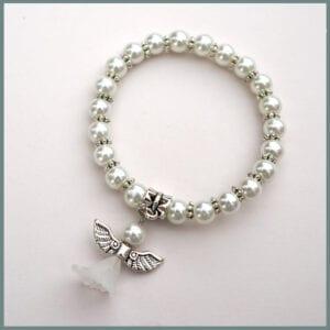 White-beaded-angel-bracelet-kids