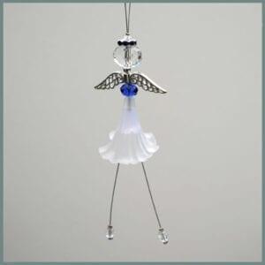 Angel-decoration-White-skirt-and-dark-blue-halo