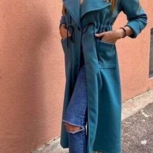 Teal Blue Coat