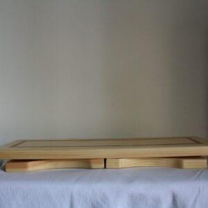 Meditation bench folding