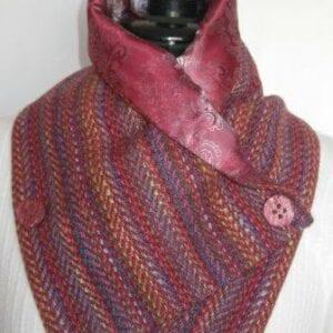 Irish Tweed Cowl scarf