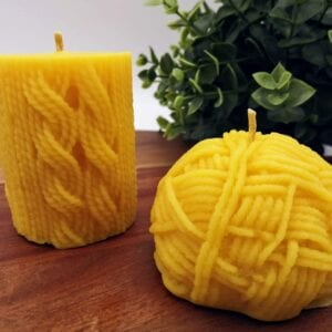 Wool Candles