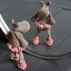 Georgina the Ballerina Hippo