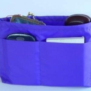Purple Handbag Insert