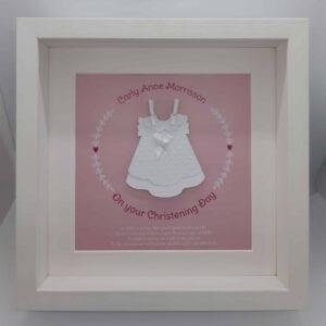 personalised girl christening