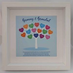 grandparent family tree idea gift