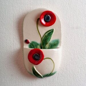 Holy Water Font Poppy