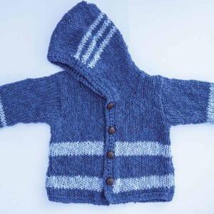 bluestripe hoodie new