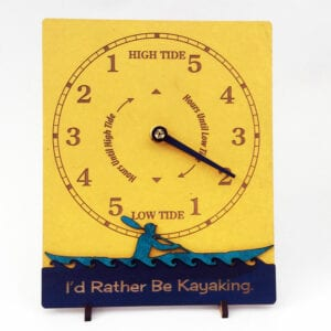 Yellow-Sea-Kayaker-Tide-Clock