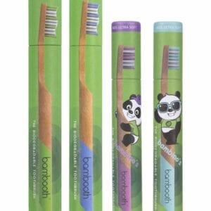 bamboo toothbrush Family Pack