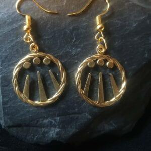Celtic Awen earrings 4