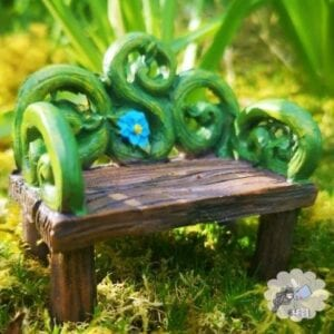 Fairy bench furniture