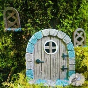 fairy door and window