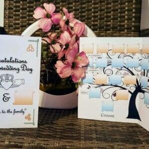 Family tree Wedding Card