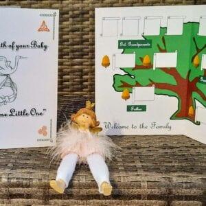 Family Tree Birth Of Baby Card