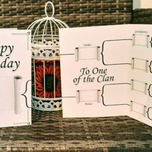 Family Tree Birthday card