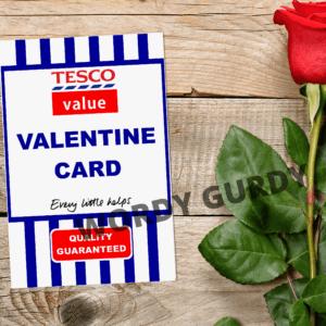 Tesco card scene