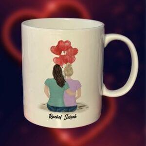 Female Valentines Mug
