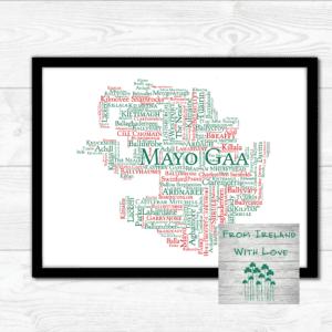 Mayo Gaa Clubs Wall Art Print Irl