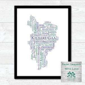 Kildare GAA Wall Art Print