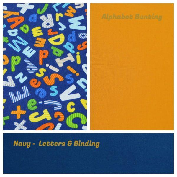 Bunting - Alphabet
