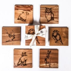 CCBNC6C The Native Collection Coasters set of 6 (1)