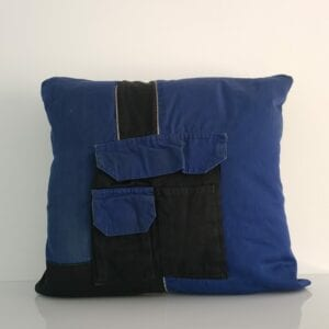 Cuddle Cushion - Memory Cushion made from overalls