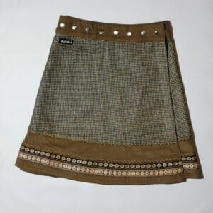 Moshiki Fawn Tweed with Cord Rim and Cotton 1