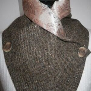 Ladies Irish Tweed Scarf