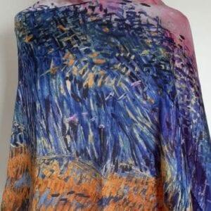 Meadow Silk Scarf