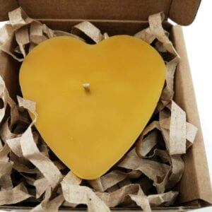 Heart Candle (4)