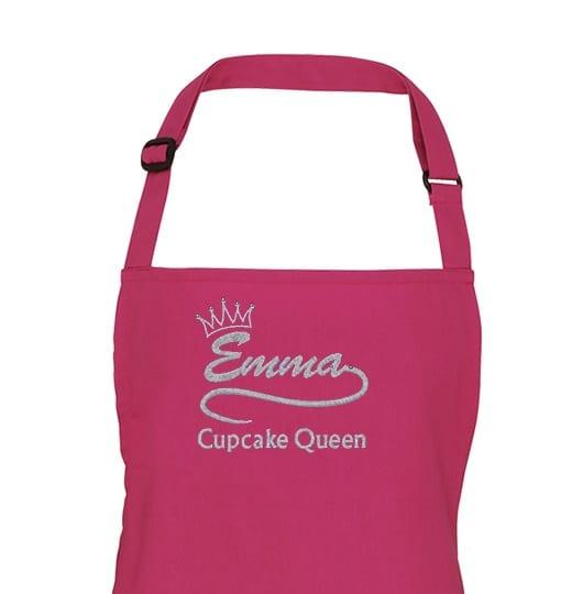 Rasberry Crush Adult apron top
