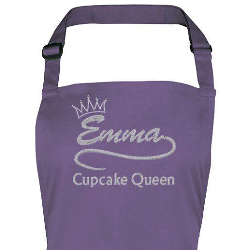 Purple Adult apron top