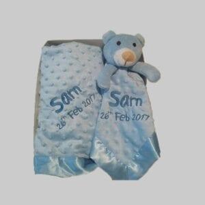 Blanket and comforter set