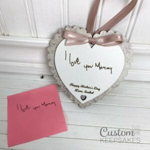 ple005 - pink scalloped handwriting heart