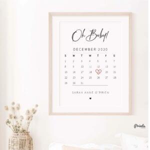 baby calender print-23