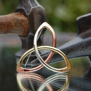 Trinity knot mixed