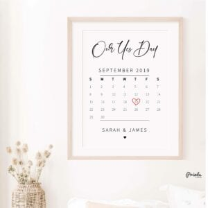engagement print - yes date-23
