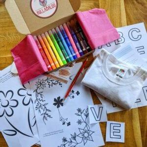 Floral-t-shirt-design-kit