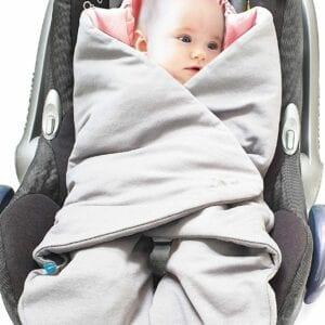 Car-seat-blanket-pink-silver