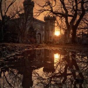 Charleville Castle At Sunset