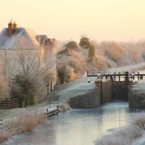 Frost Morning At Boland's Lock