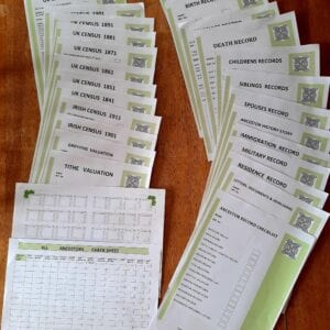 Genealogy Stationary - Starter package