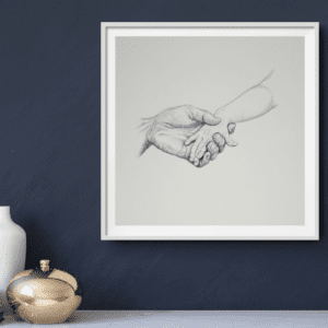 Holding on Limited Edition Print
