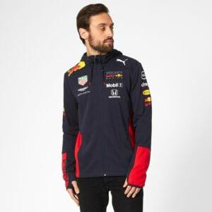 Red Bull Hoodie Sweat Jacket