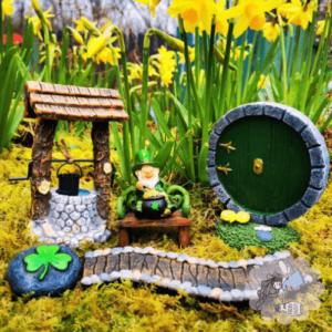 leprechaun fairy door gift set