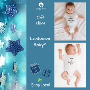 Sleepy Stars - Lockdown Baby Vests