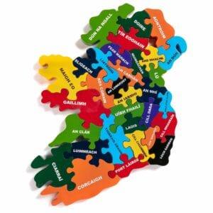 Map of Ireland IRISH