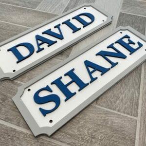 Boys Rectangle Name Plaque