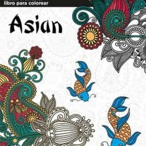Asian Colouring Book